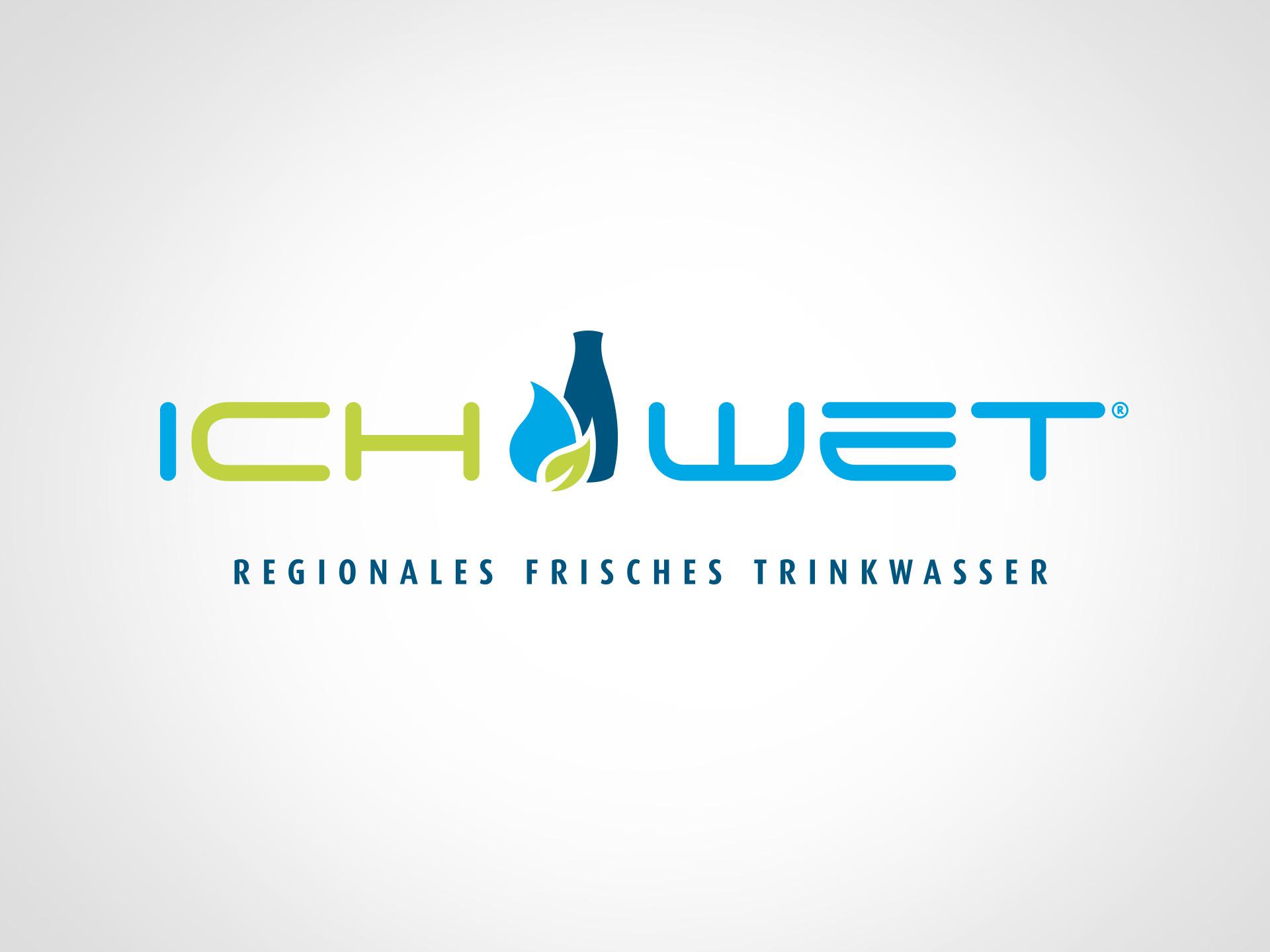 SM Graphic Design Referenzen Webdesign Logo Illustration ichwet Wasser Trinkwasser frisch natur Umwelt bio